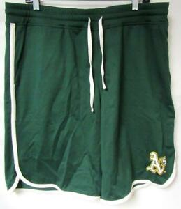 Oakland Athletics Mens Size Large Embroidered Shorts with Draw String C1 842