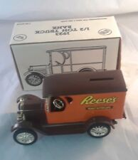 ERTL 1923 Chevy Reese's 1/2 Ton Delivery Van Bank With Original Box 1/25