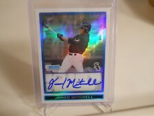 Jared Mitchell 2009 Bowman Chrome Draft Prospects Refractors #BDPP88  Auto /500