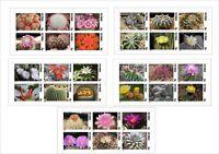 2010 CACTUS PLANT 5 SOUVENIR SHEETS MNH UNPERFORATED