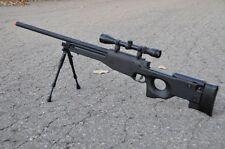 WELL Tactical L96 AWP Airsoft Sniper Rifle W/ Scope + Bi-pod