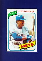 Steve Henderson 1980 TOPPS Baseball #299 (MINT) New York Mets