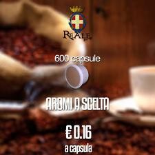 REALE CAFFÈ- 600 CAPSULE Cialde Caffè compatibili Lavazza Espresso Point