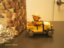 Cherished Teddies ` Bert in farm car - I'm busy as a bee every day of the week