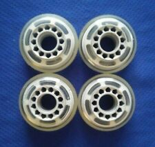 New! Outdoor Rollerblade Inline Hockey Fitness Skate Wheels (70mm / 78A) 4-Pack