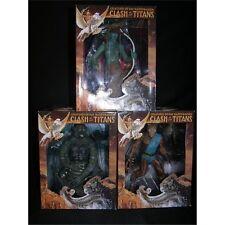 Gentle Giant Clash Of The Titans 4 Figure Set Medusa Kraken Calibos Bubo