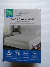 Mainstays Pro chill Waterproof Mattress Protector TXL fitted.