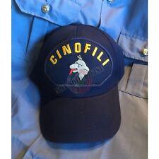 Berretto Cappello Baseball Cap logo Ricamato Cinofili Soccorso con Cani