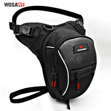 Mens Drop Leg Bag Fanny Waist Bags Motorcycle Tactical Thigh Pack Hiking Pouch