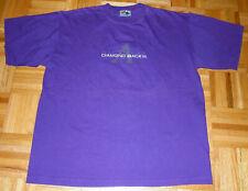 T Shirt Vintage 90s Arizona Diamondbacks MLB Basball Embroidered Purple Size LRG