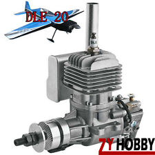 DLE20 20CC Gasoline Engine W/ Electronic Igniton & Muffler FOR RC AIRPLANE