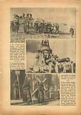 Villareal/Cuirassé Provence Maroc/WWI M Flaus Chemin des Dames 1937 ILLUSTRATION