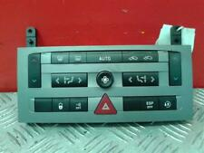 2006 PEUGEOT 407 HEATER CONTROL PANEL 96573322
