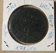 6 Tornesi Regno di Napoli Ferdinando IV di Borbone 1801 - Rame- BB++ -  nr. 752