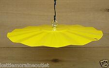 "Erva 14"" Rain or Shine Weather Guard Bright Yellow Color Protect Finch Feeder"