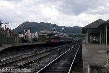 Bray station & CIE train 1981 Eire Rail Photo