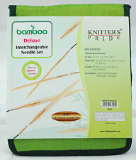 Knitter's Pride Bamboo Deluxe Interchangeable Circular Needle Set