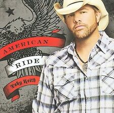 FREE US SHIP. on ANY 2 CDs! NEW CD Toby Keith: American Ride