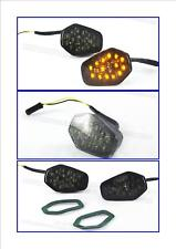 LED indicators flush fairing Suzuki GSXR smoked lens 9S