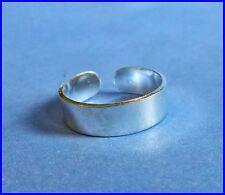 Argent Sterling (925) Bracelet Réglable Toe Ring 5 mm Tout Neuf