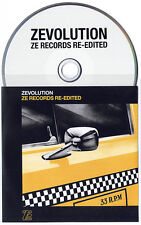 Zevolution Ze Records Re-Edited 11-trk promo CD Material James White Kid Creole