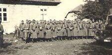 WWII German RP- Army- Soldier- Helmet- Truck- KFZ- Overcoat- Overseas Hat- Rifle