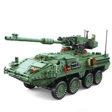 New Kazi 1672pc Century Military Armored Vehicles Mgs-M1128 Tanks Building block