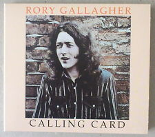 CD DIGIPACK    ***  RORY GALLAGHER. CALLING CARD***