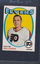 1971/72 OPC O-Pee-Chee #062 Wayne Hillman Flyers EX *26