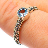 Blue Topaz 925 Sterling Silver Ring Size 9 Ana Co Jewelry R28938F