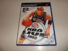 PlayStation 2 PS 2 NBA Live 2003