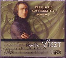 Klassische Kostbarkeiten  -  Franz Liszt  - Reader's Digest    3 CD Box