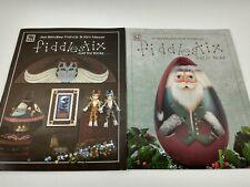 2 Fiddlestix Decorative Tole Painting Pattern Instruction Books Cats & Santa P9