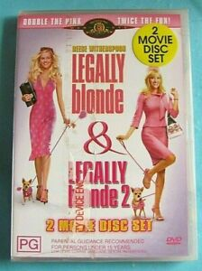 LEGALLY BLONDE / LEGALLY BLONDE 2 DVD NEW SEALED Region 4 see below