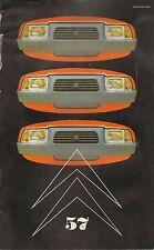 LE DOUBLE CHEVRON 57 1979 GAMME 1980 CITROEN GSA CX DIESEL LIMOUSINE C4 IX 1932