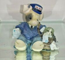 This Little Piggy Porkmaster General Mary Rhyner Nadig 1995 Enesco Figurine