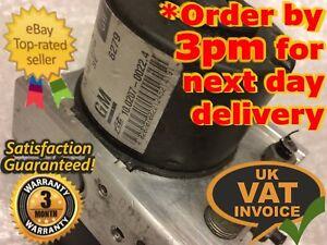 Vauxhall Astra / Zafira ABS Pump Unit 13157575 GW 10.0207-0022.4 10.0970-0503.3