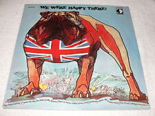 "George Howe/Carl Davis ""We Were Happy There"" 1969 LP,SEALED!,British Documentary"