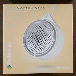 NEW Polaroid MINI MODERN DECO Lightweight Bluetooth Wireless Speaker