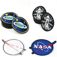 1pc Embroidery NASA Planet Sew Iron On Patch Badge Bag/Clothes Applique Patches