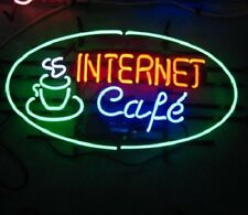 "New Inernet Cafe Coffee Open Shop Light Lamp Beer Neon Sign 24""x20"""