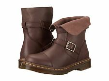 Dr. Martens New Women's US 10 Kristy Motorcycle Boot Dark Brown Virigina C46