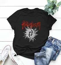 Halestorm Tee Logo Cotton Retro Classic Unisex T-Shirt Black Color