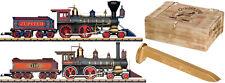 LGB 29000 Spur G Dampflokomotiven-Set Golden Spike neu OVP