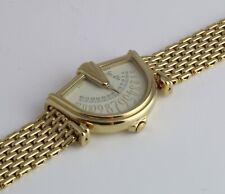 Jean D'EVE Gold-Plated Sectora Orologio grandi dimensioni orologio da uomo