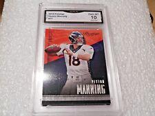 Peyton Manning GRADED CARD!! Gem Mint 10!! 2014 Prestige #77 Broncos Colts HOF-2