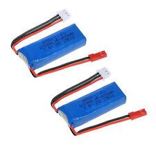 Wltoys P929 P939 K979 K989 K999 K969 RC Car Spare Parts 2pcs 7.4V 450mAh Battery