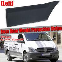 Left Side Rear Door Mould Protective Stripe Decor for Mercedes Vito
