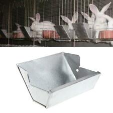 Pro Rabbit Hutch Trough Feeder Drinker Bowl Farming Pet Animal Equipment Tool