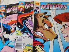 Archie Adventure series Lot of three April O'Neil #.3,2, and 1